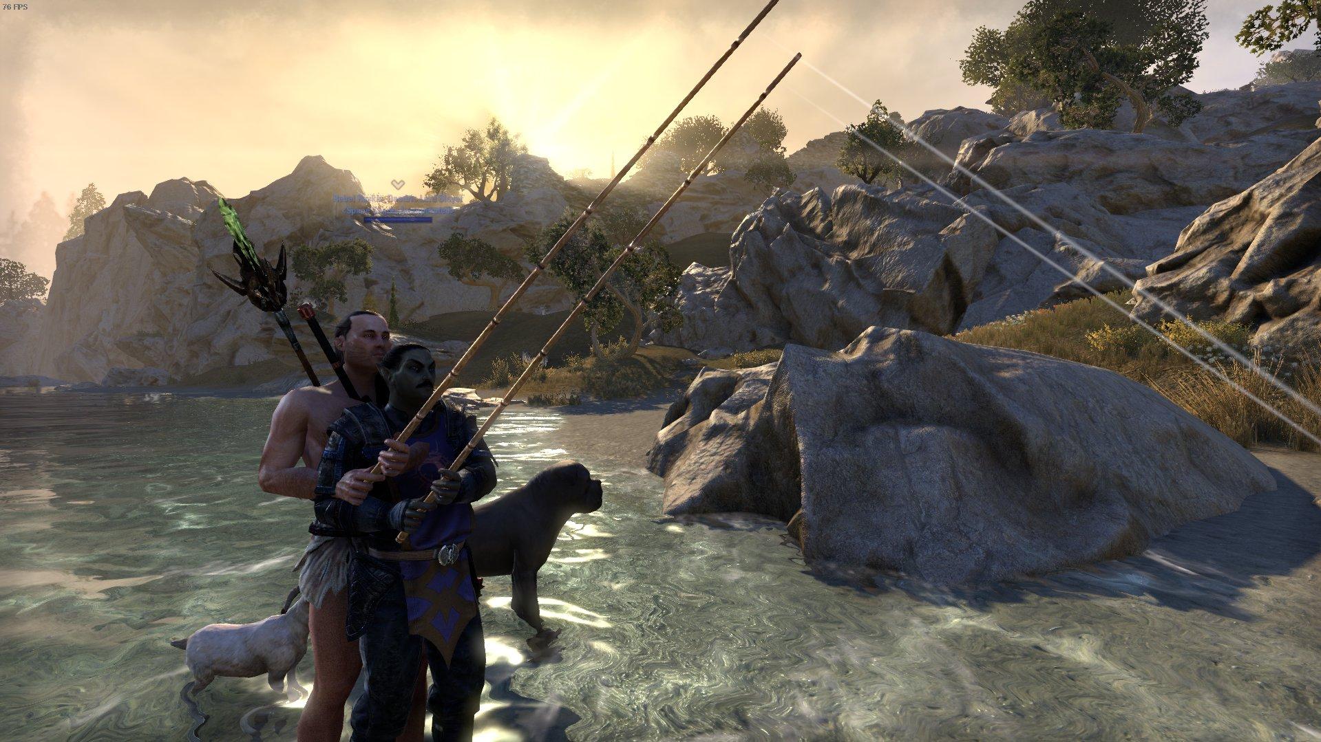 The Elder Scrolls Online Fishing Screenshot