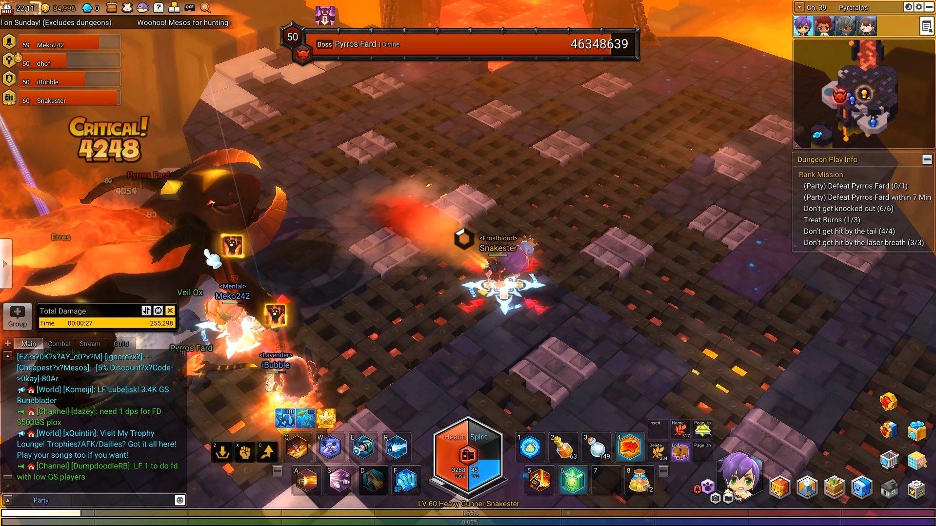 Maplestory 2 Fire Dragon Boss Guide