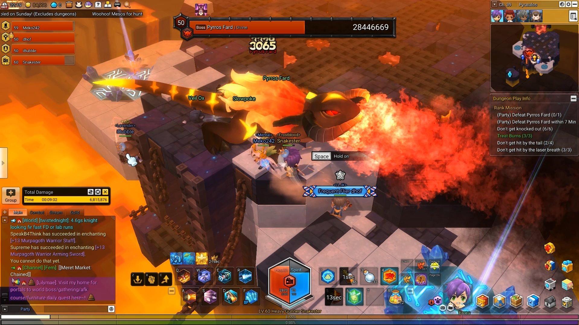 Maplestory 2 Fire Dragon Flame Breath