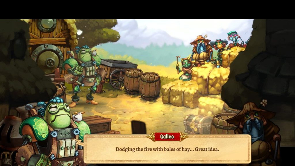 SteamWorld Quest