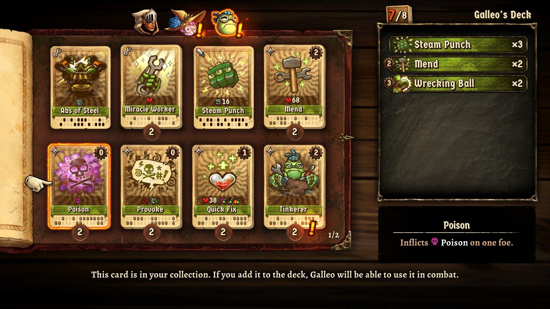 SteamWorld Quest Card Deck