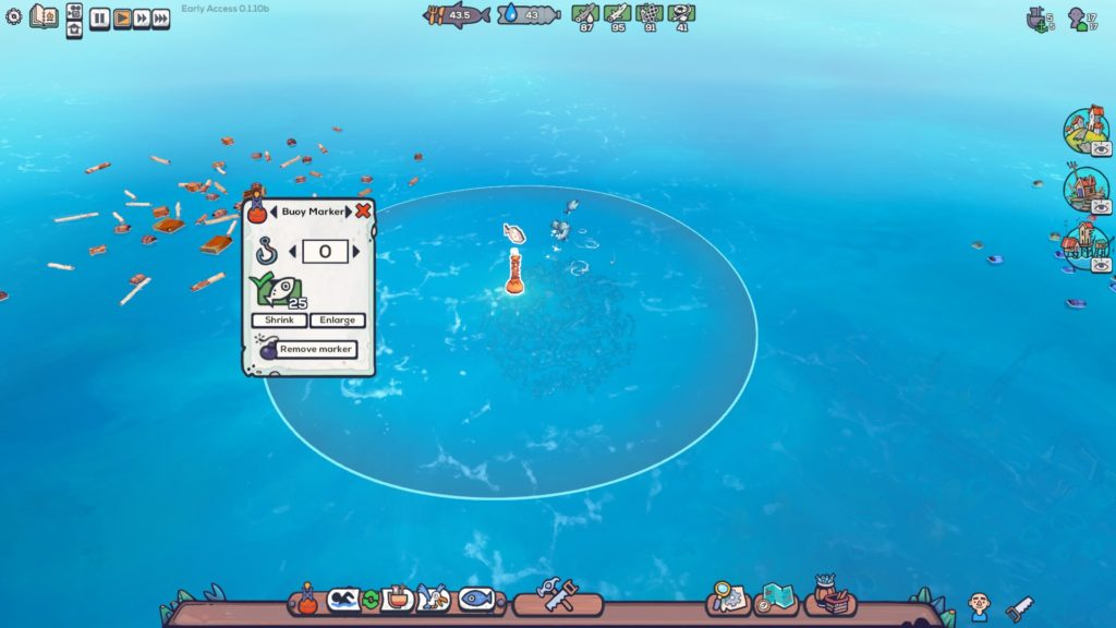 Flotsam Fishing