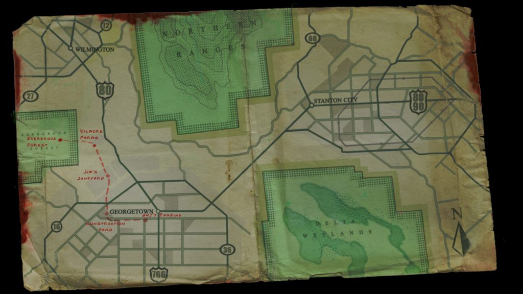 Frontline Zed Map