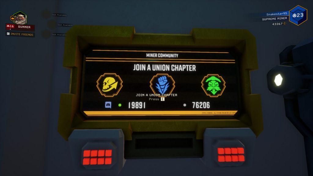 Deep Rock Galactic Union