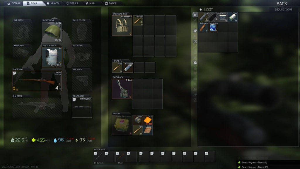 EFT What Items to Keep