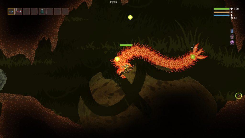 Noita Dragon Worm Boss