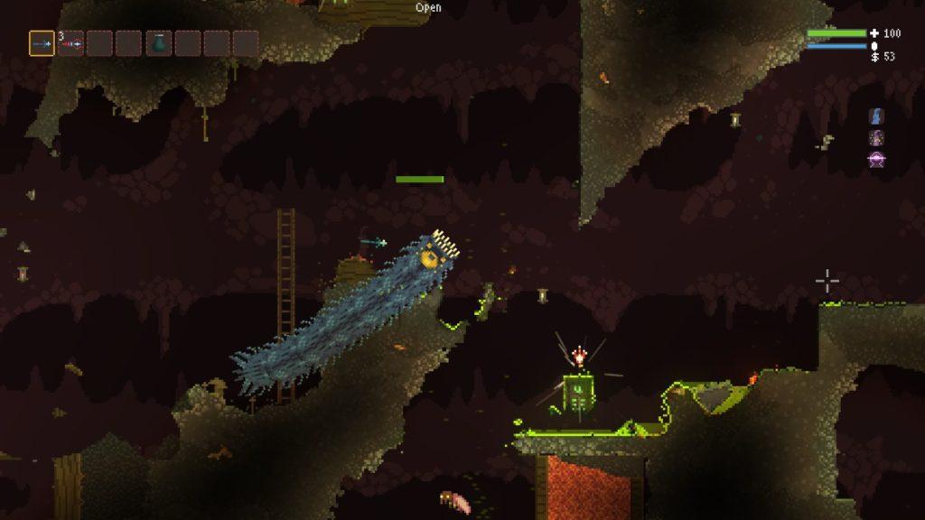 Noita Giant Worm
