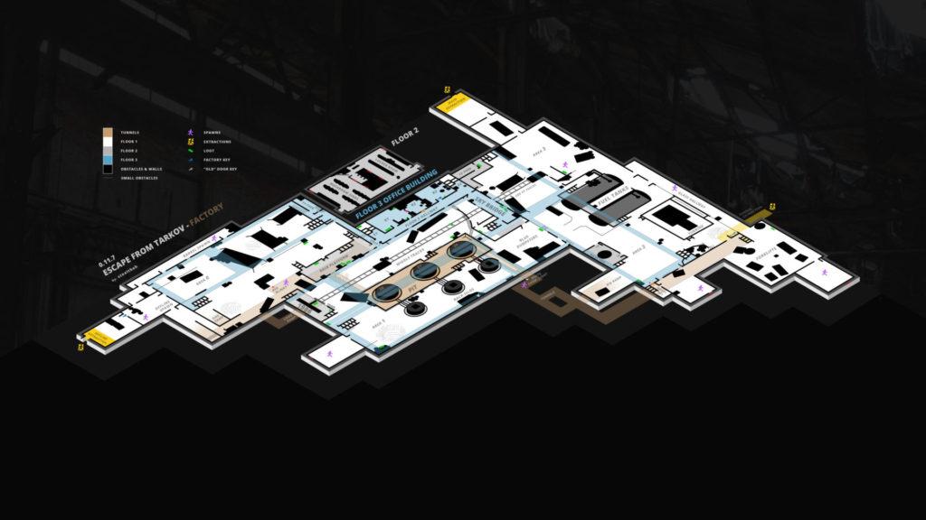 Factory Map 3D 2020
