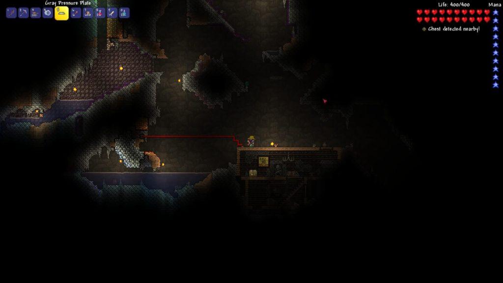 Dart Trap Underground Cave