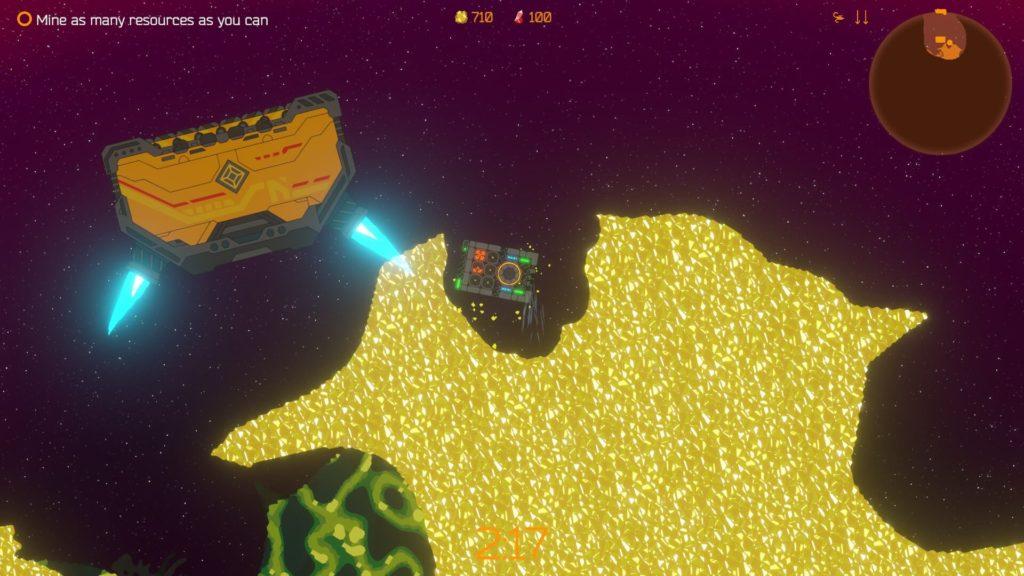 Mining Tritium Crystals in Space