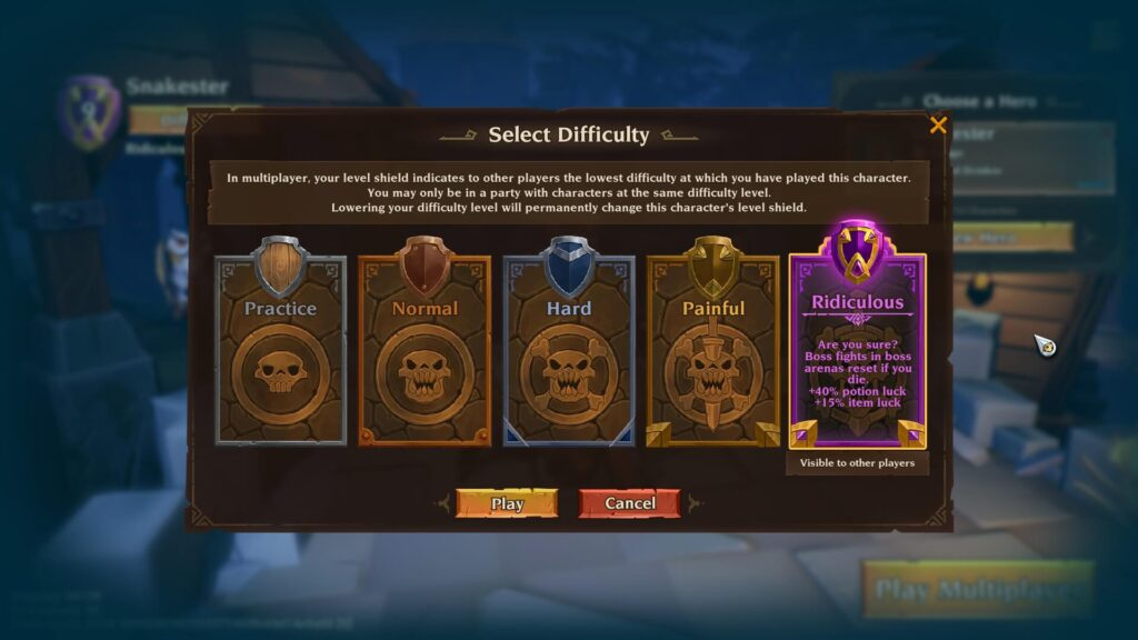 Torchlight 3 Difficulty Players