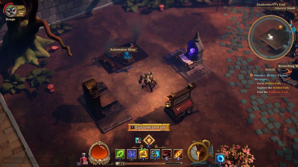 Torchlight 3 Respec Fort Tables