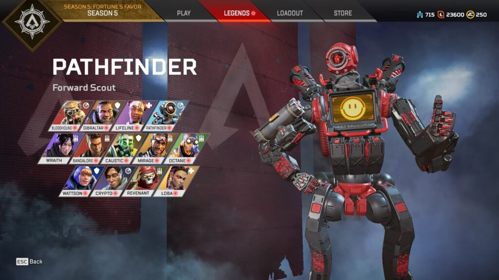 Apex Legends Pathfinder Grapple