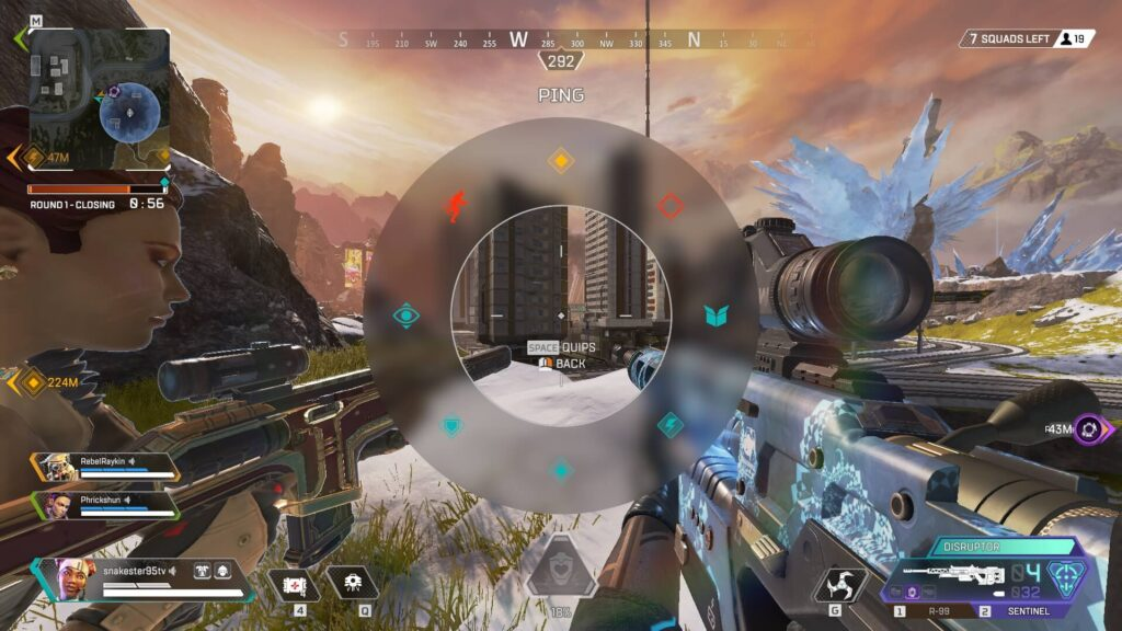 Apex Legends Ping System