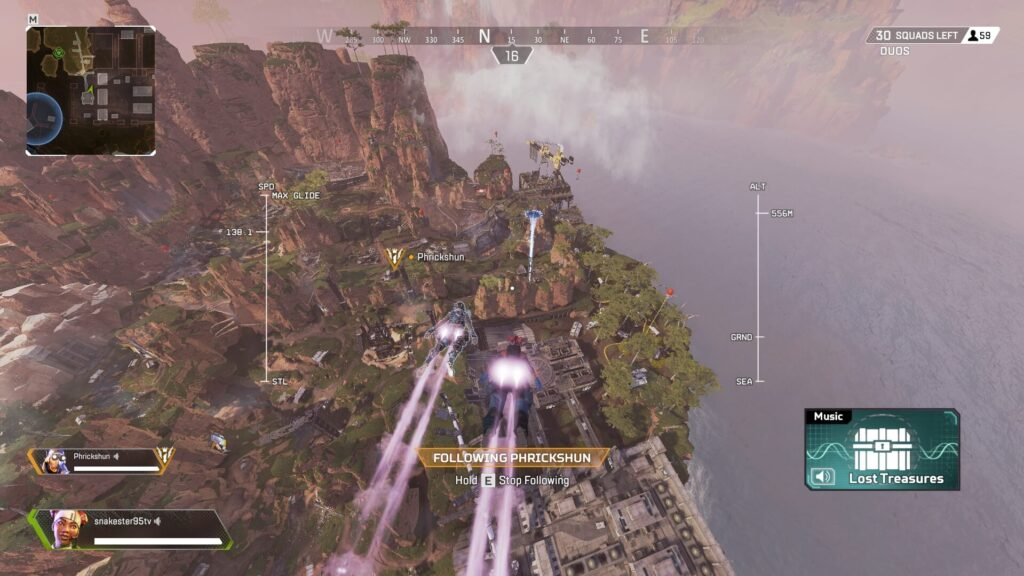 Apex Legends Where to Land