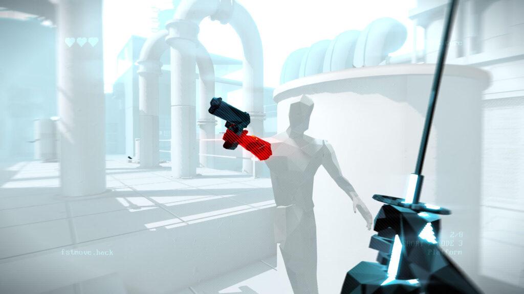 Superhot Mind Control Delete White Armor