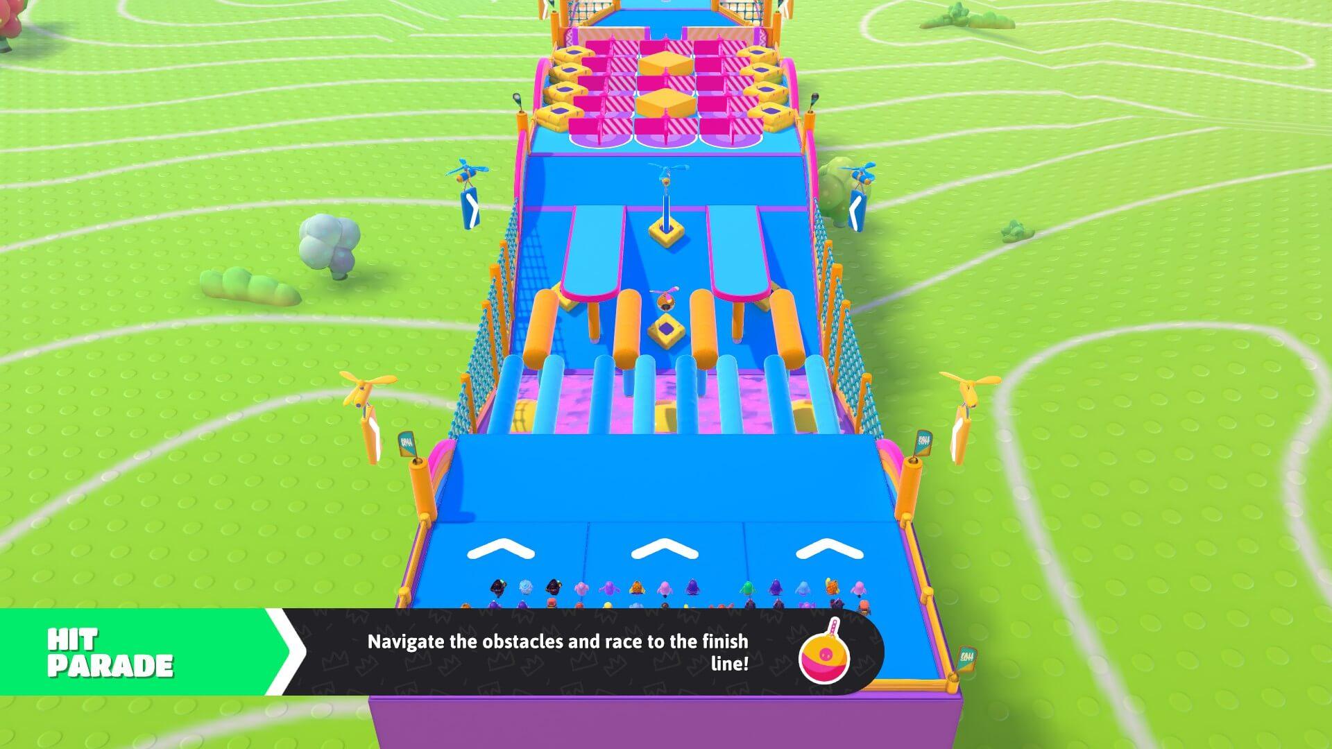 Fall Guys Hit Parade Map Screenshot