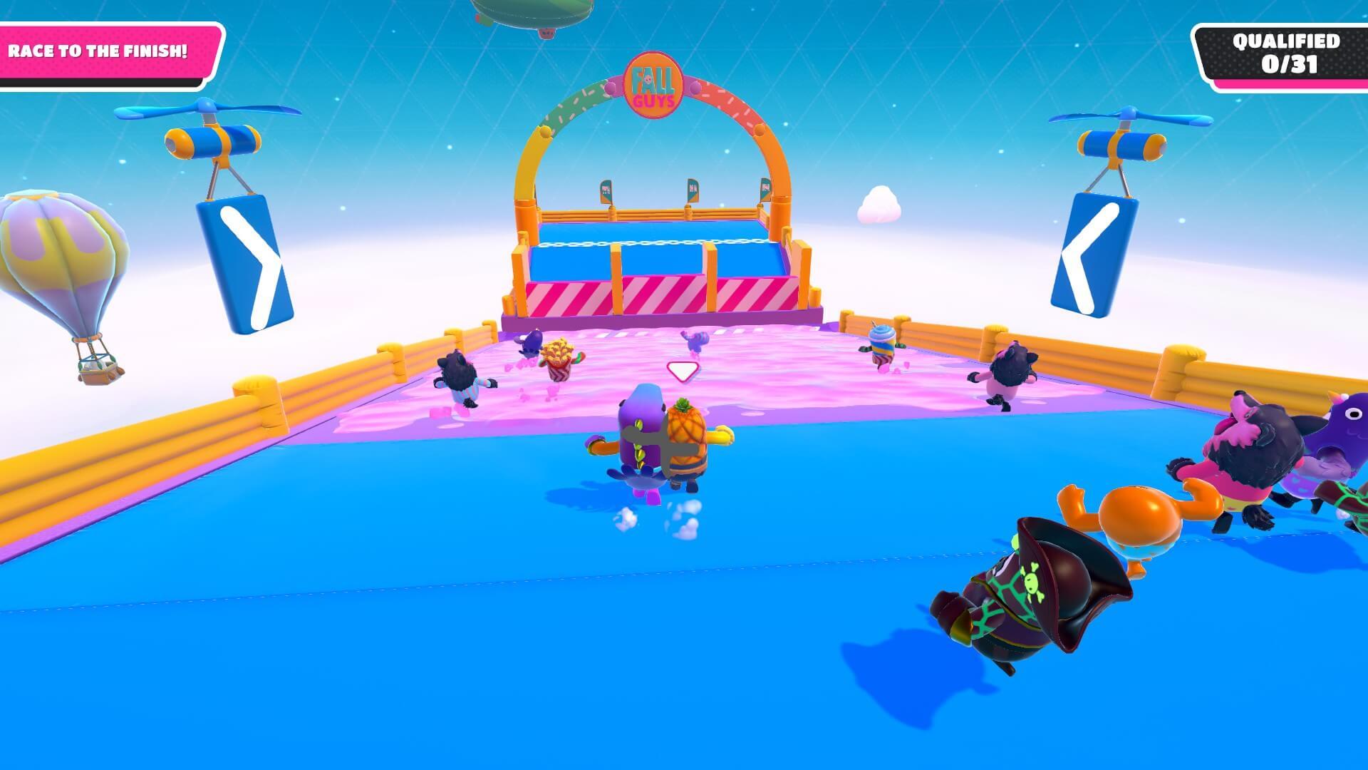 Fall Guys Race Screenshot