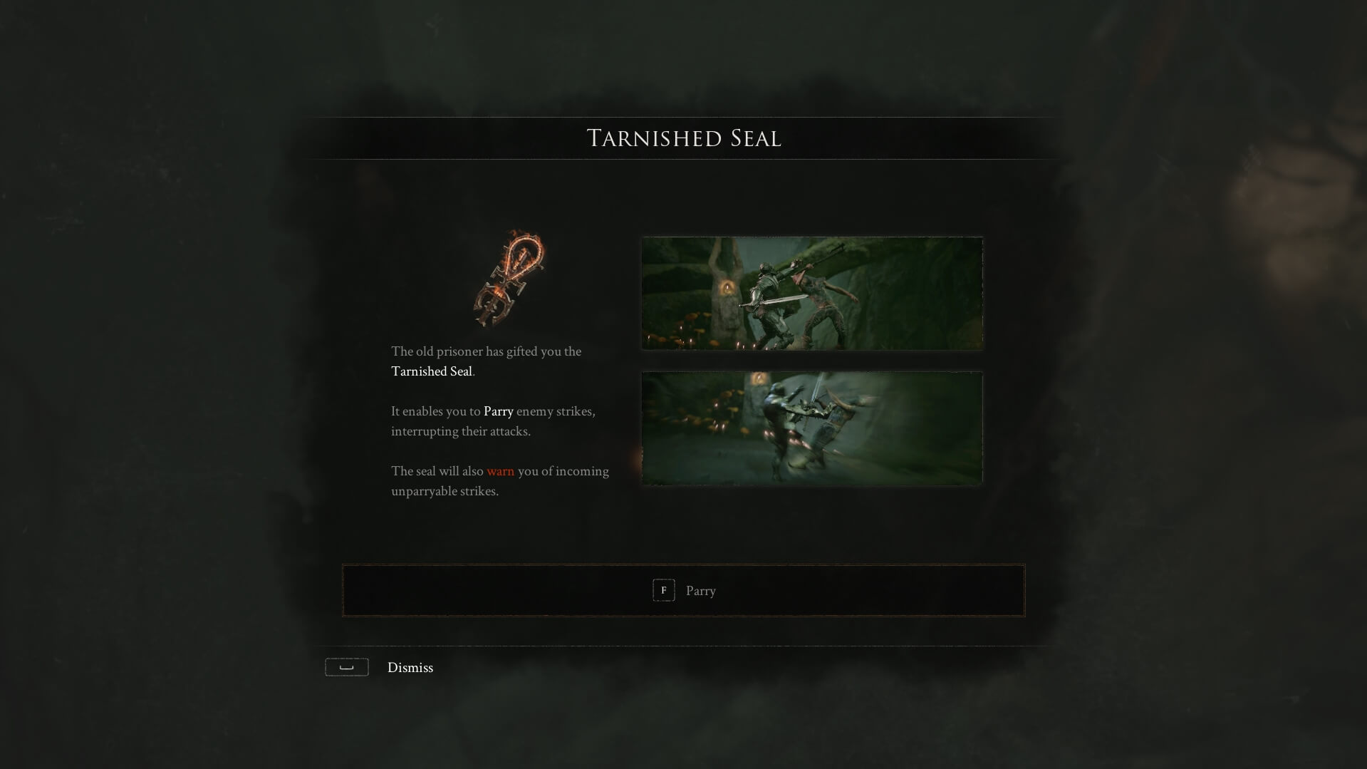 Mortal Shell - Tarnished Seal Parry