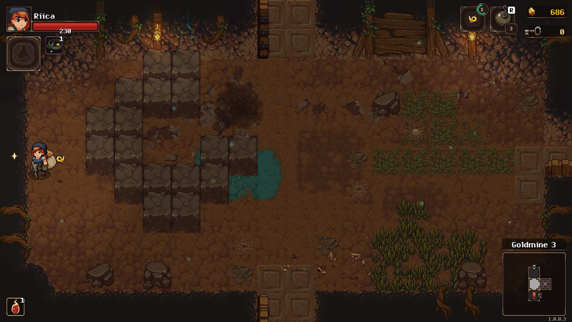Undermine Secret Room
