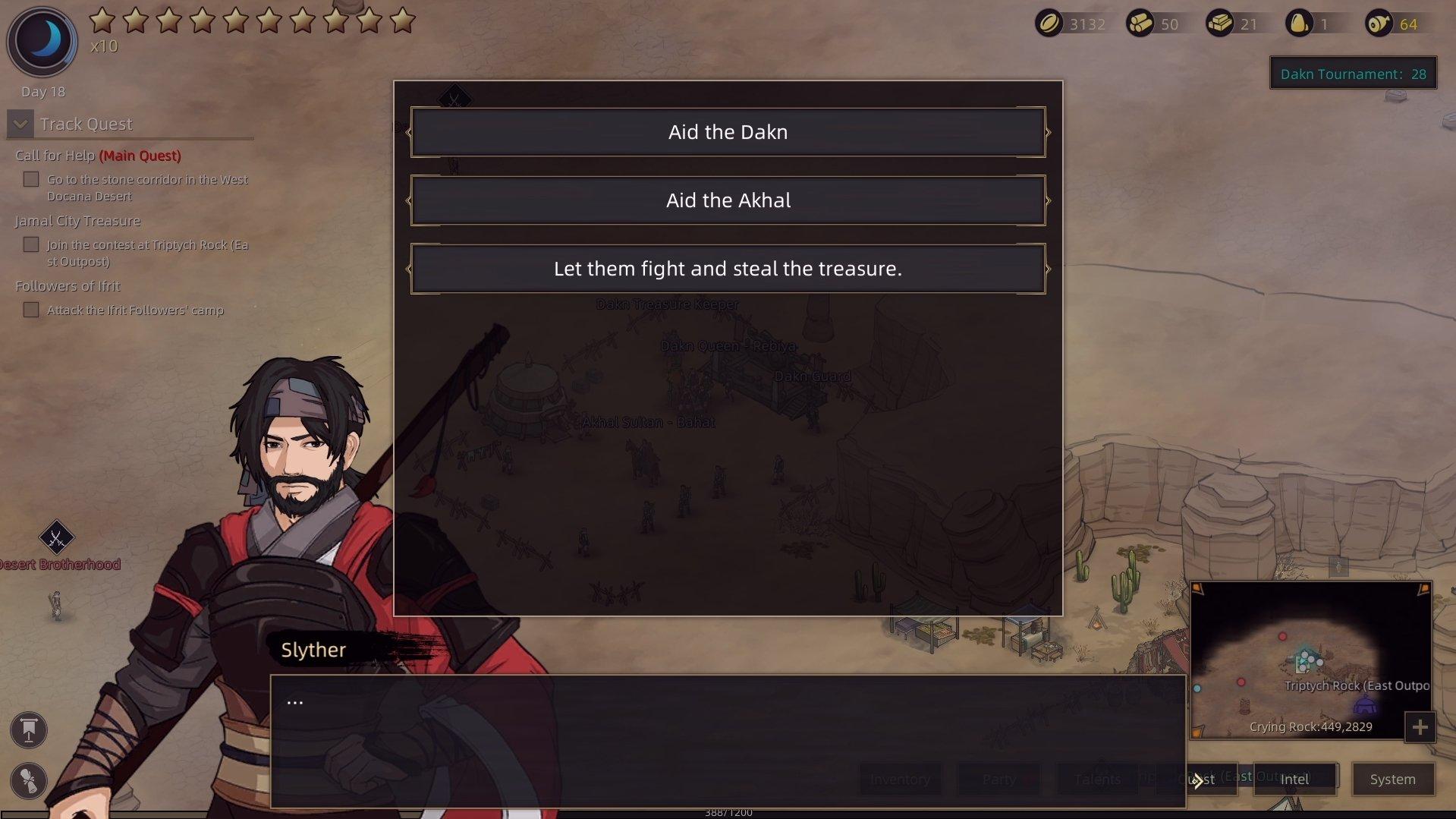 Sands of Salzaar - Dakn Tournament Choices