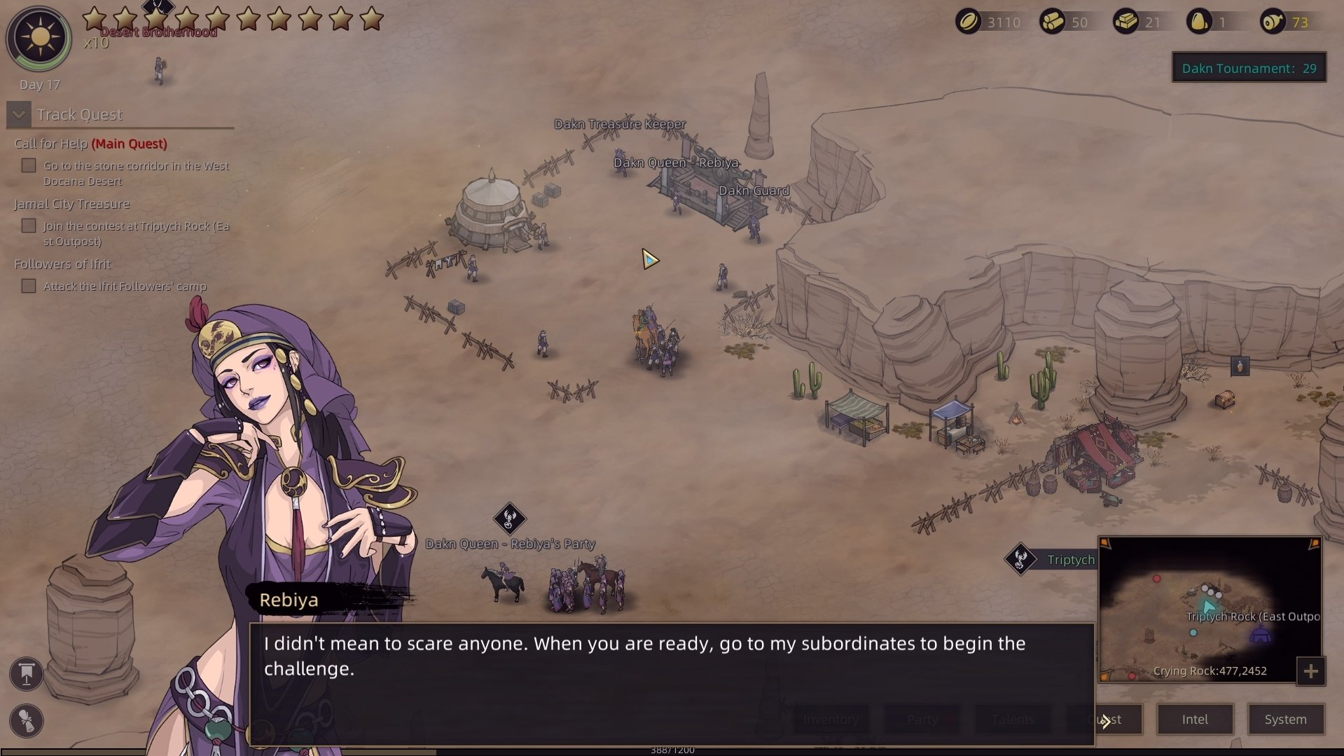 Sands of Salzaar - Dakn Tournament Riddle Answers