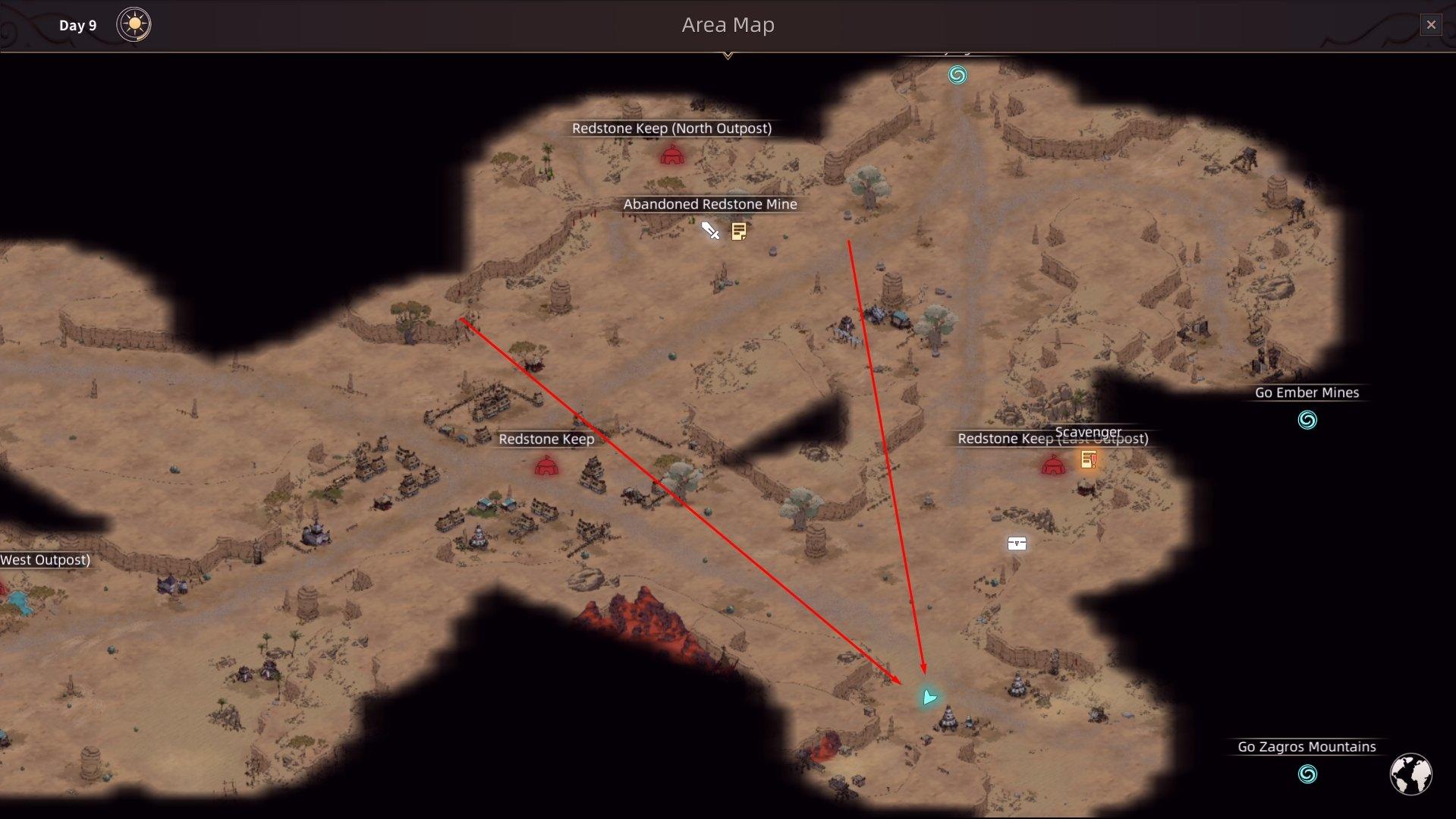 Sands of Salzaar - Ifrit Ghoul Lair Pahoehoe Lava Void