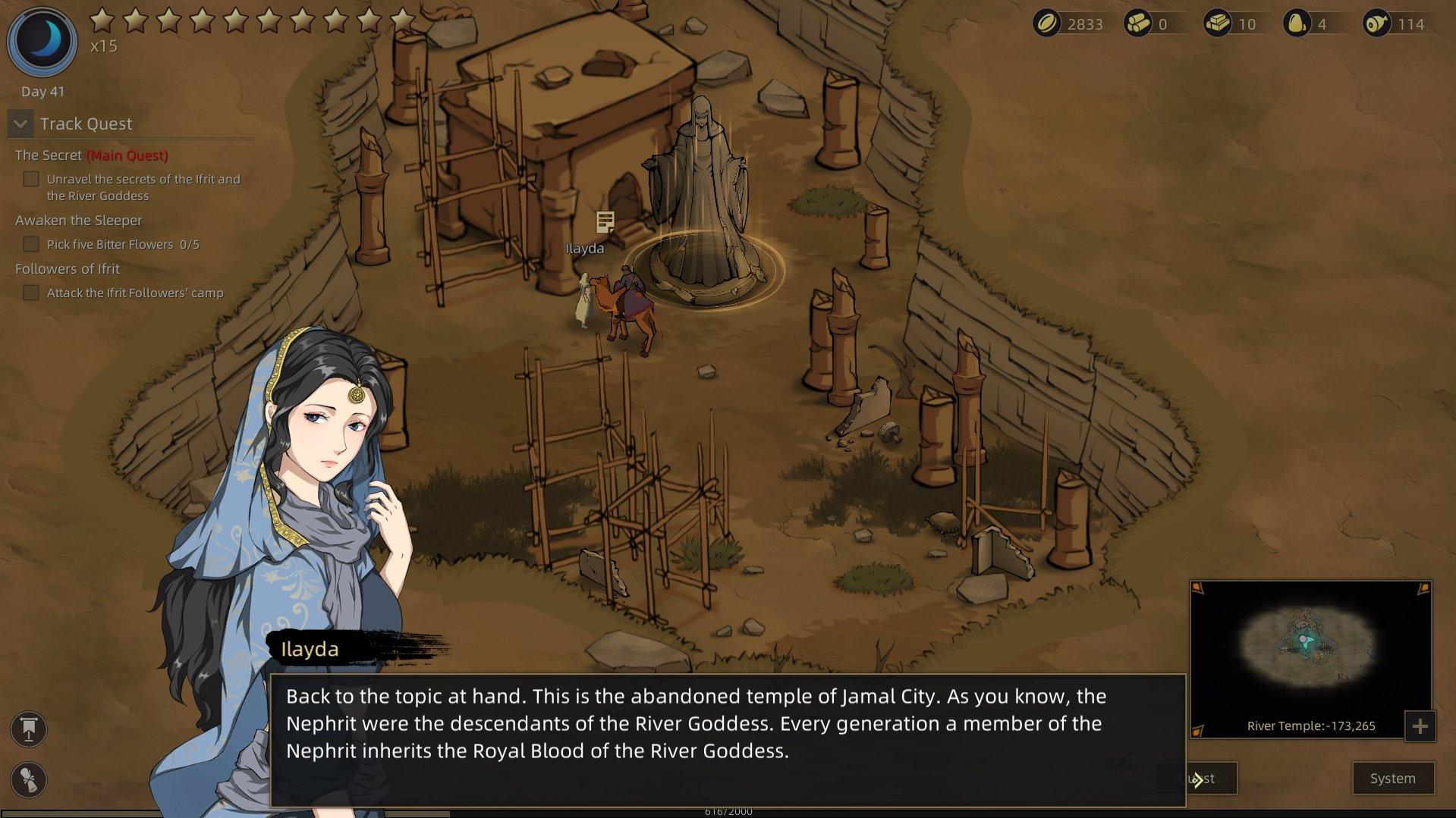 Sands of Salzaar - The Secret Ilayda Conversation