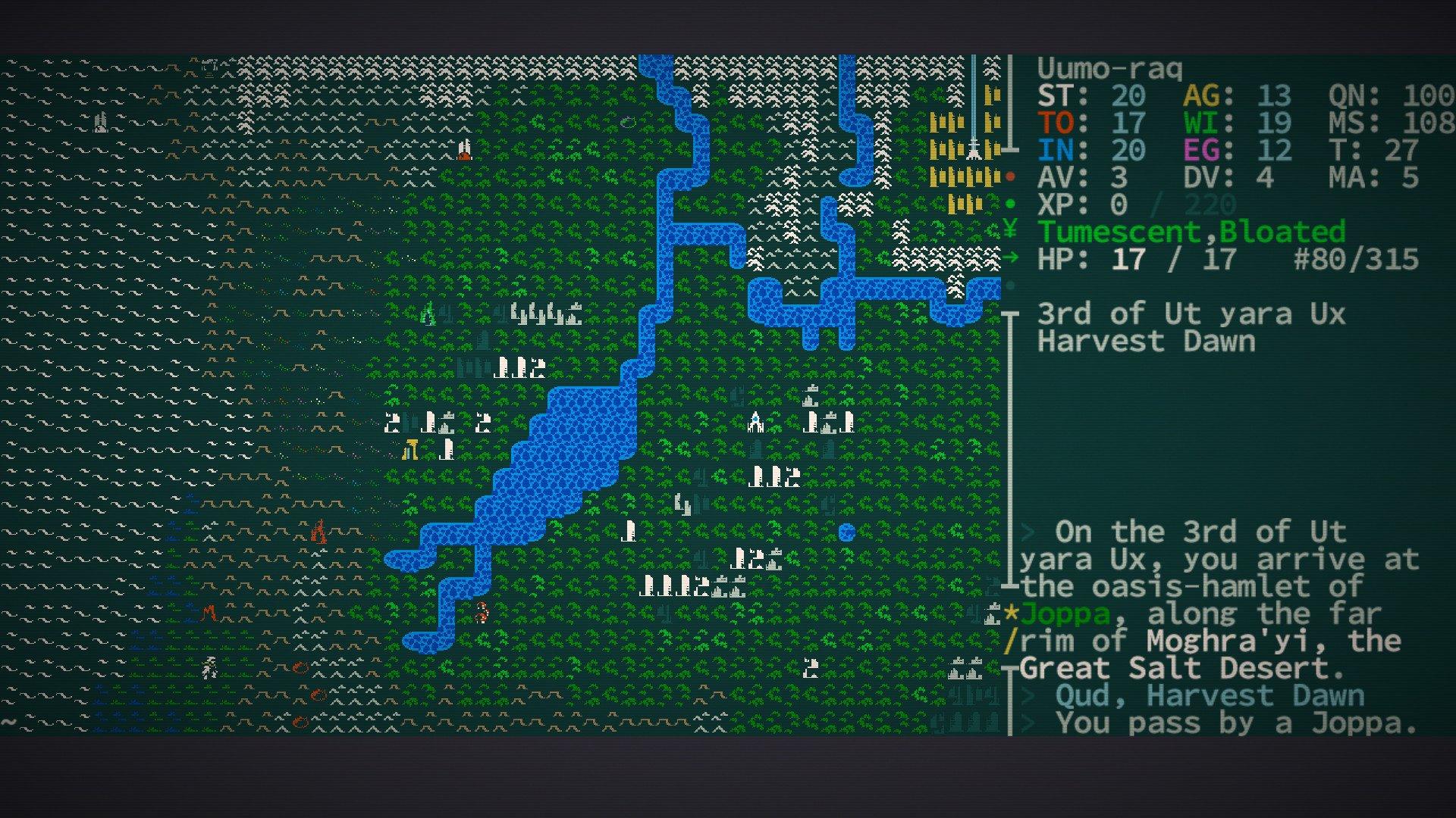 Caves of Qud Screenshot Roguelike