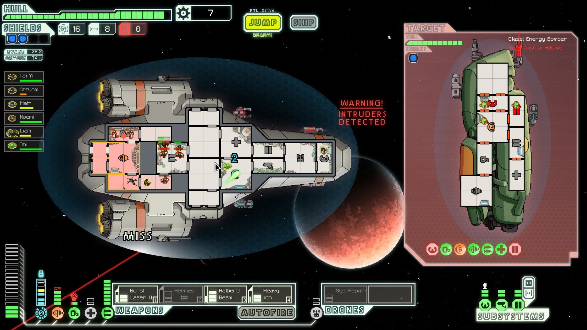 FTL Faster Than Light Screenshot Roguelike