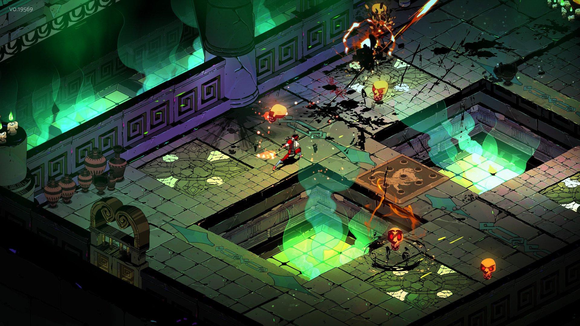 Hades Screenshot Roguelike