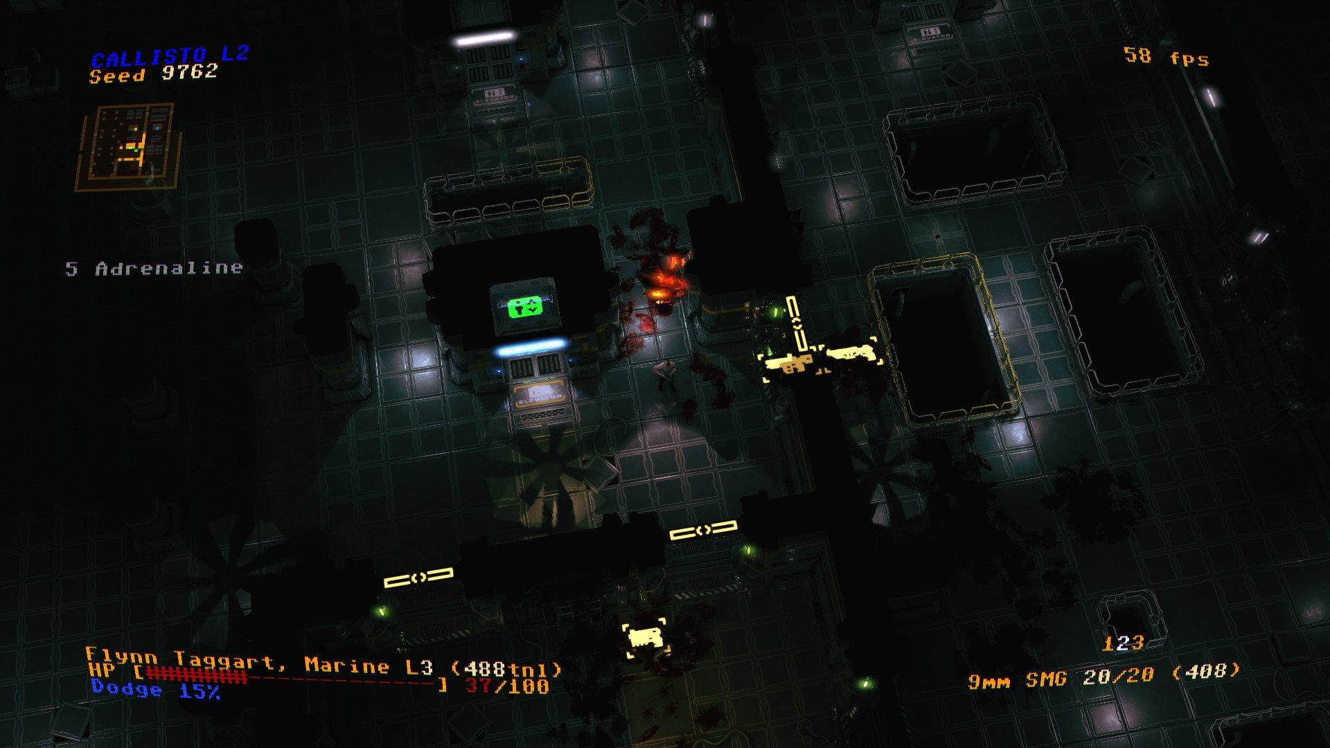 Jupiter Hell Screenshot Roguelike