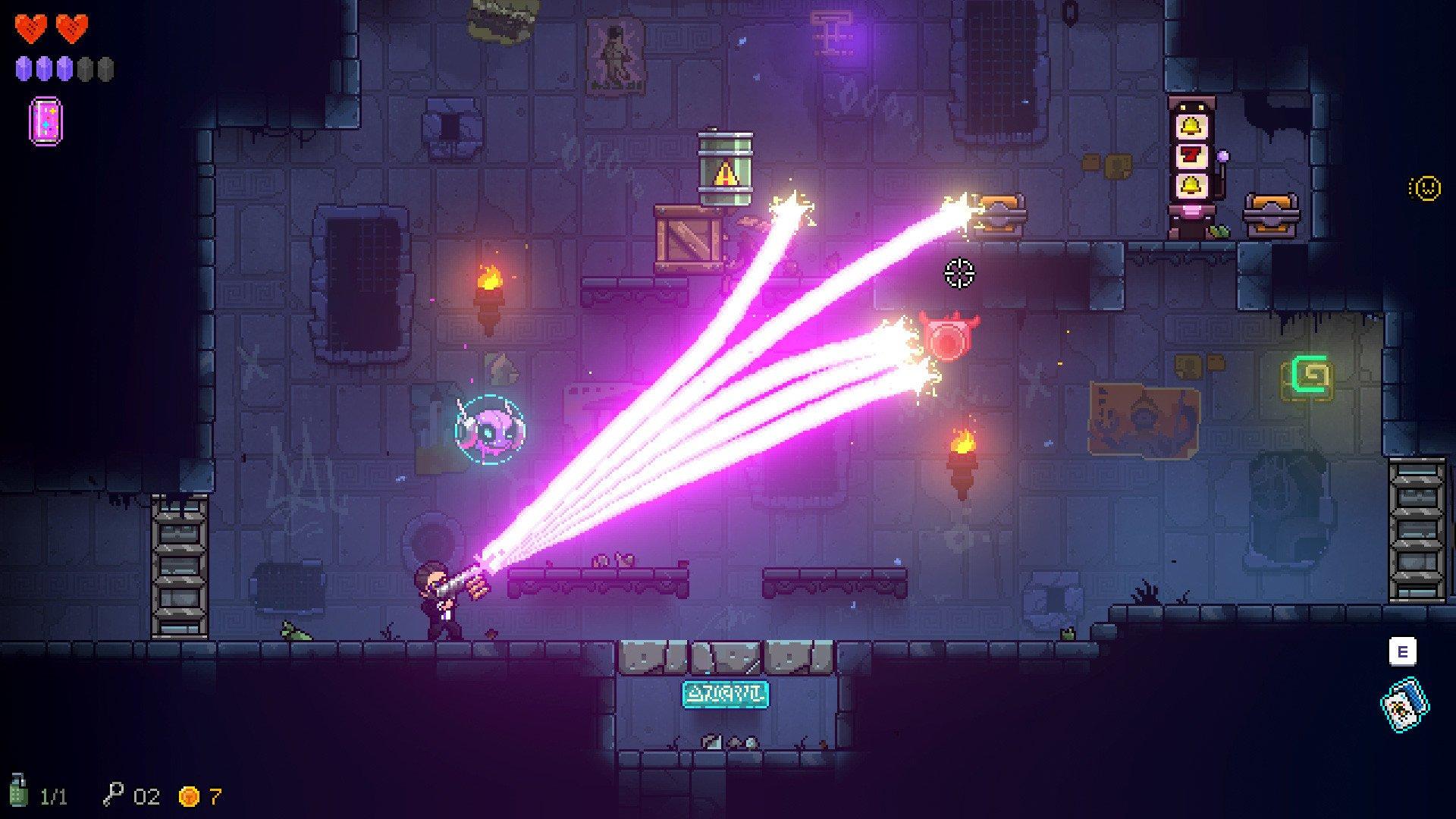 Neon Abyss Screenshot Roguelike