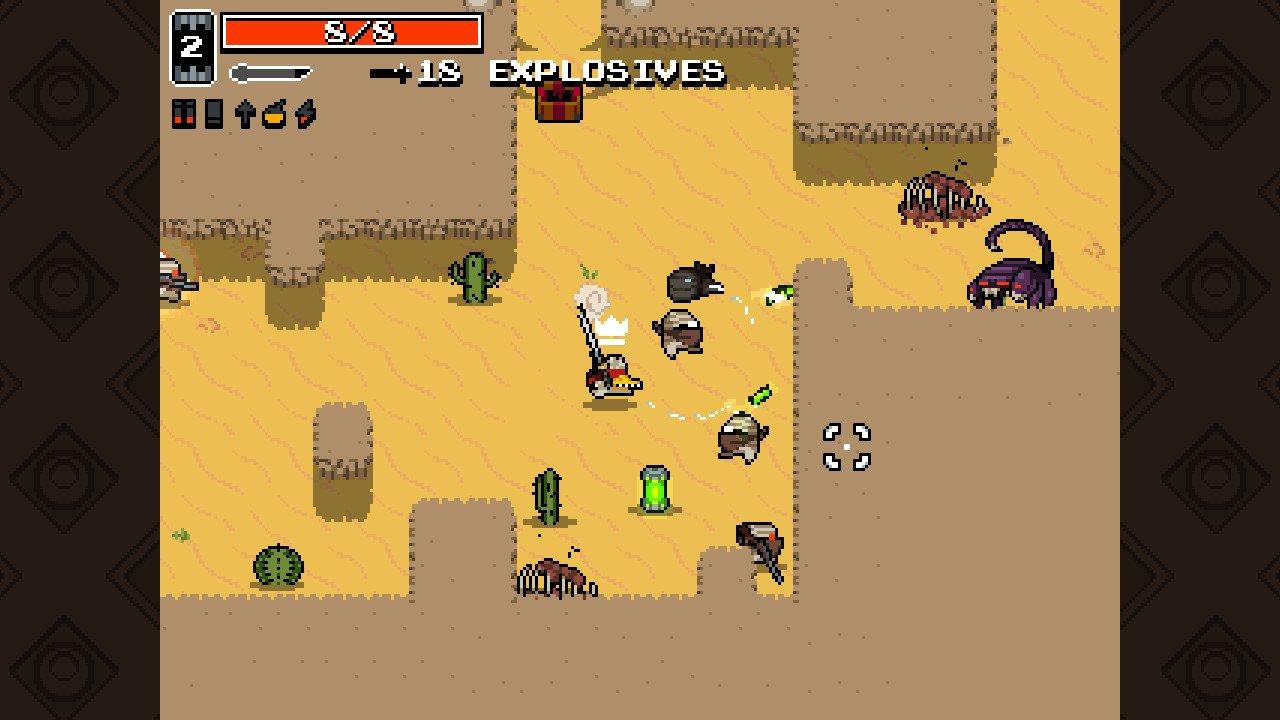 Nuclear Throne Screenshot Roguelike