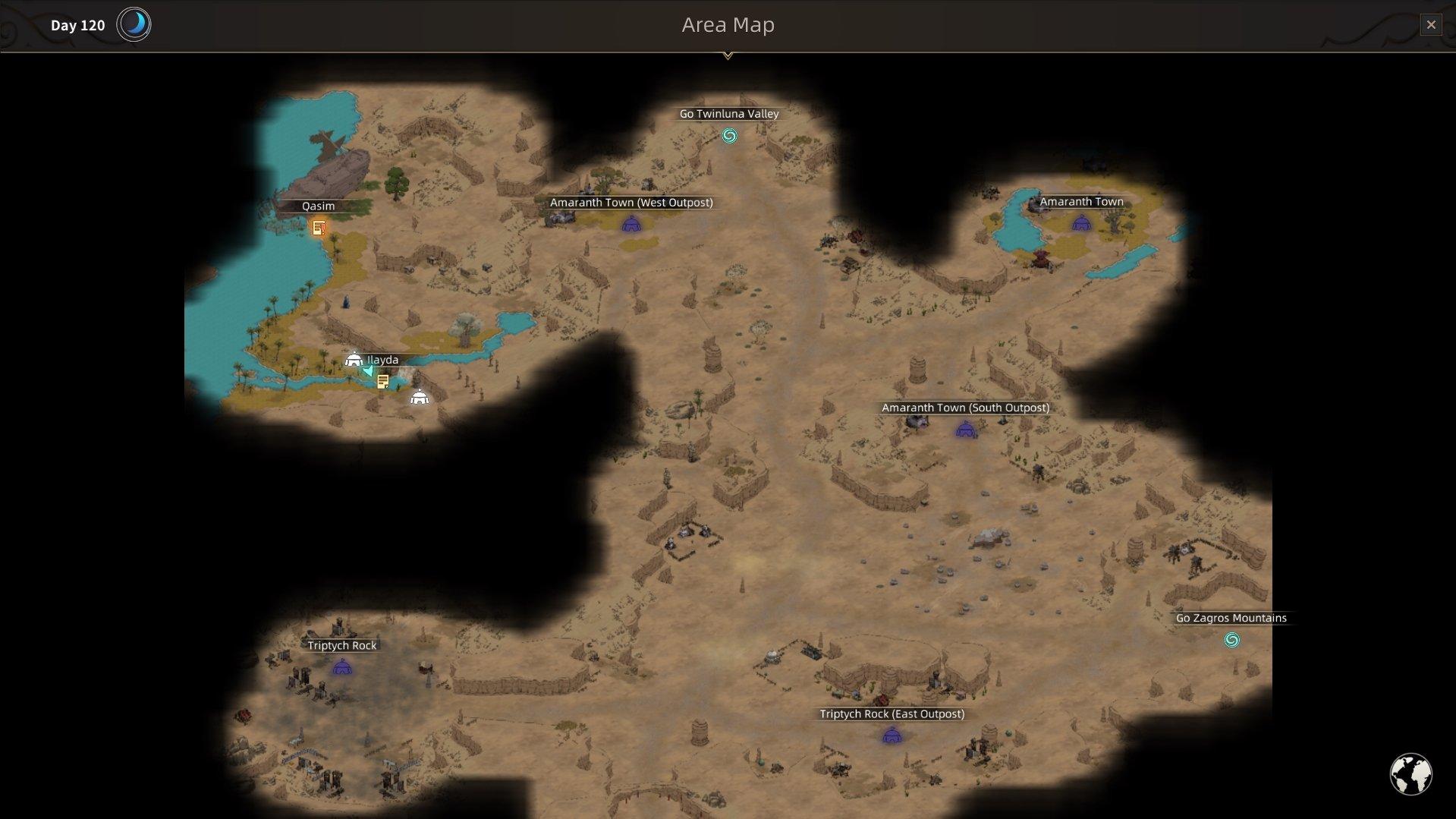 Sands of Salzaar - Crying Rock Spot