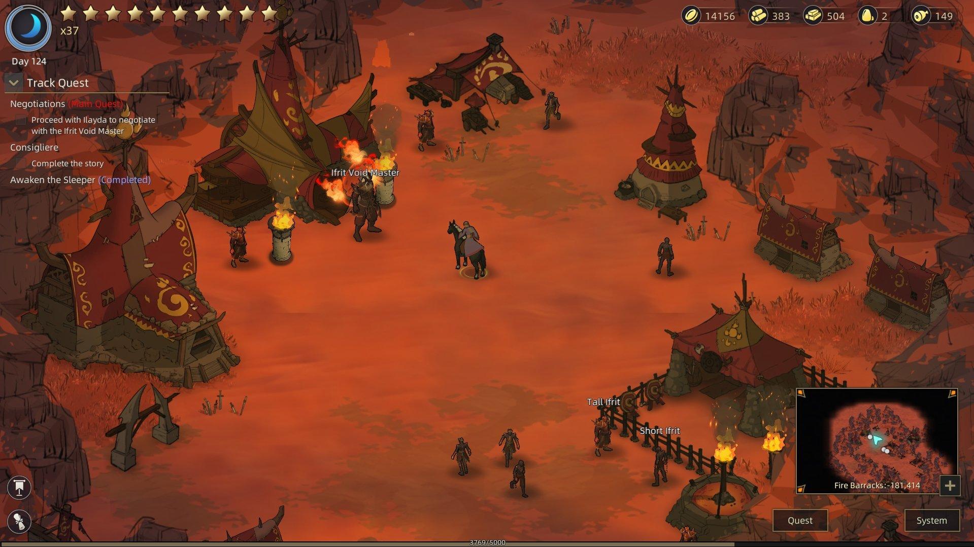 Sands of Salzaar - Negotiations Ifrit Void Master