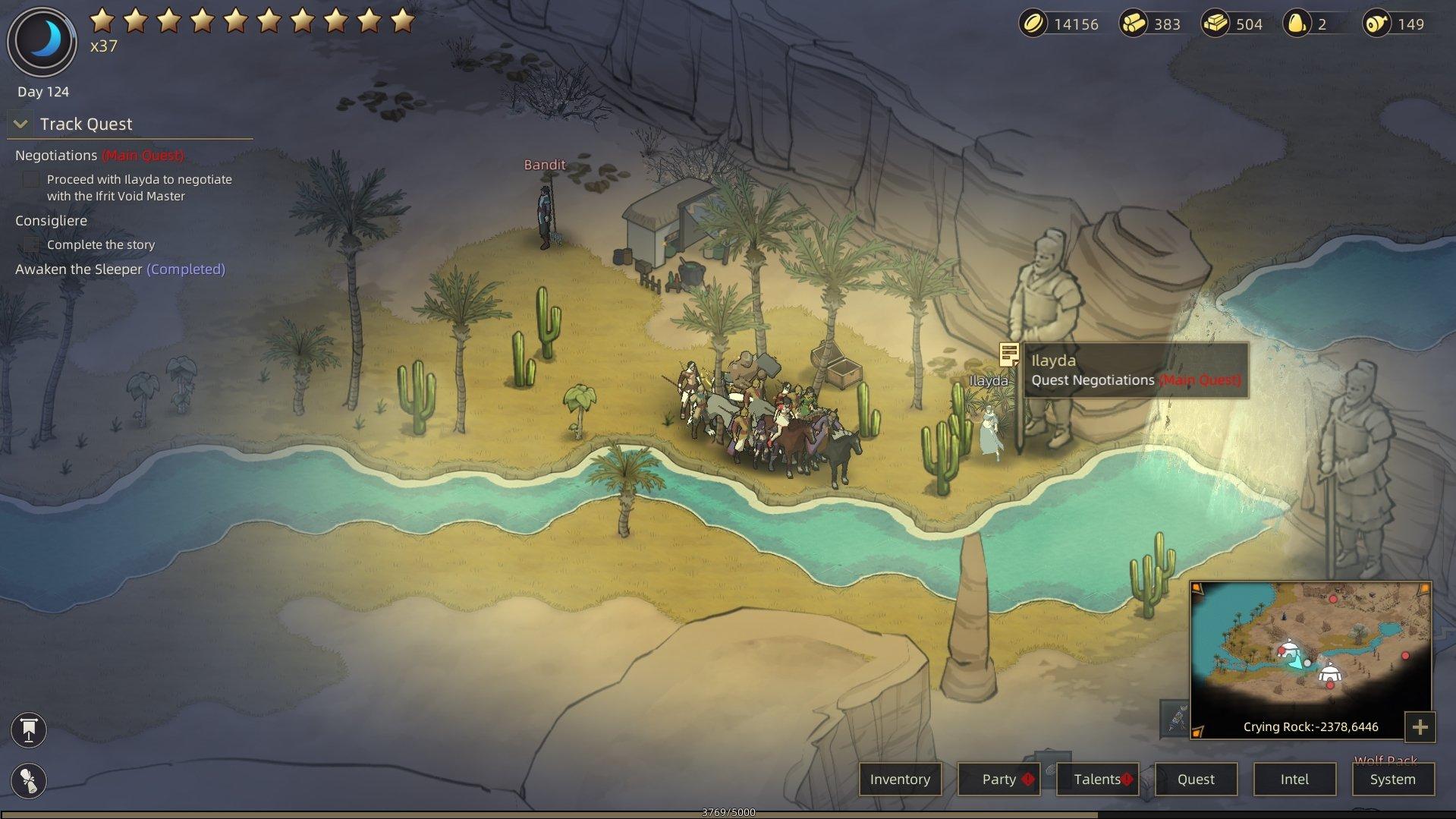 Sands of Salzaar - Negotiations Walkthrough