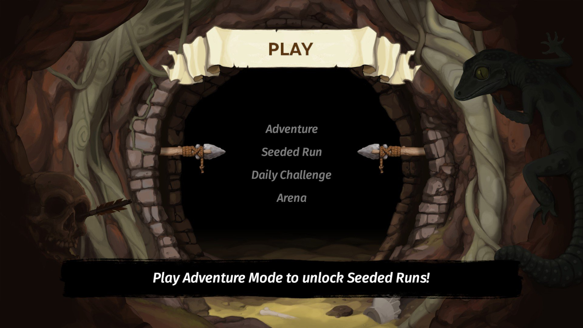 Spelunky 2 - How to Unlock Seeded Runs