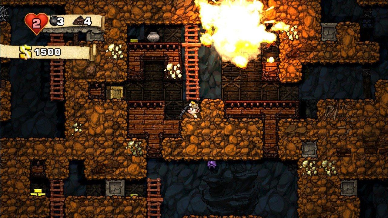 Spelunky Screenshot Roguelike
