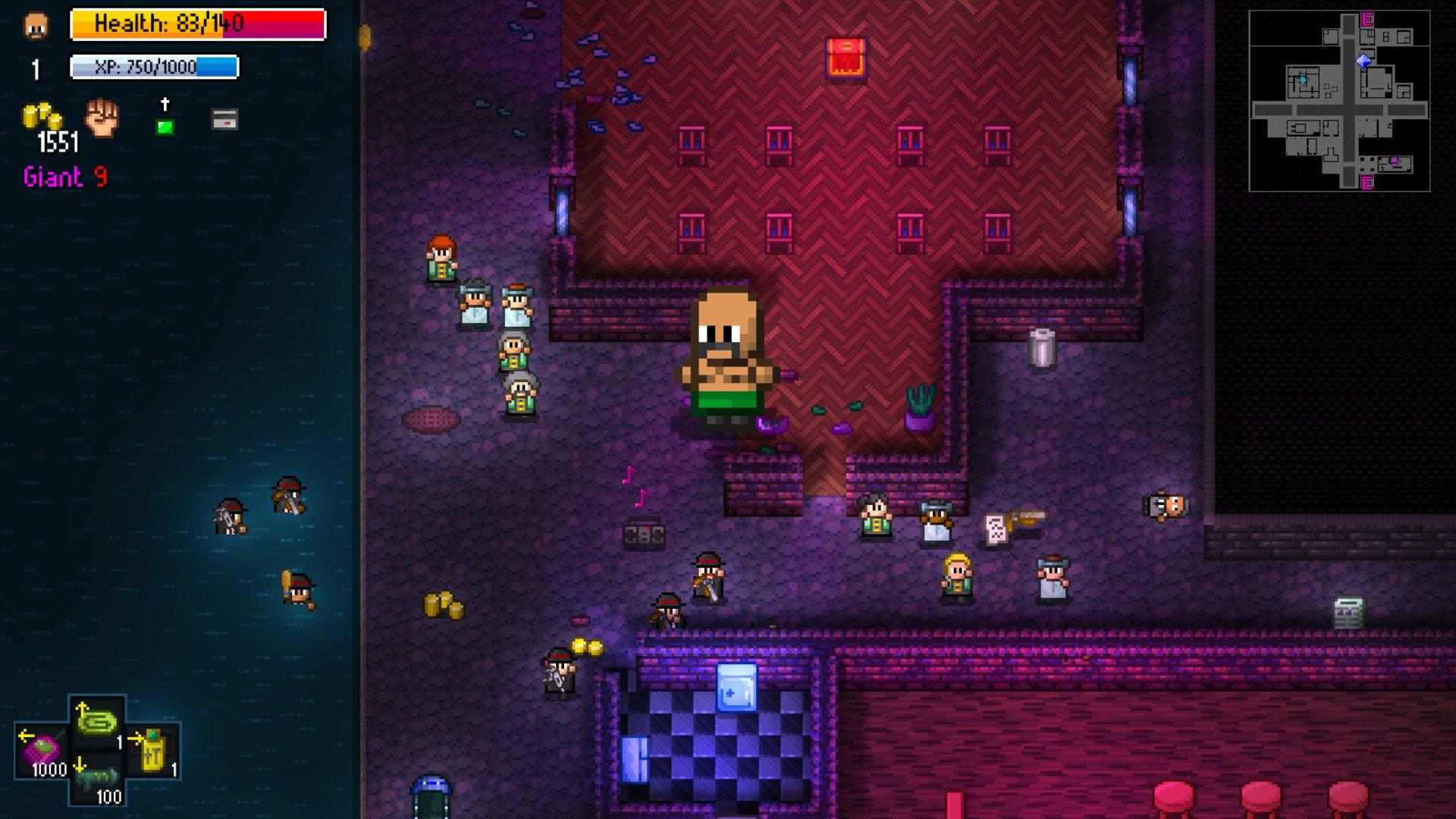 Streets of Rogue Screenshot Roguelike
