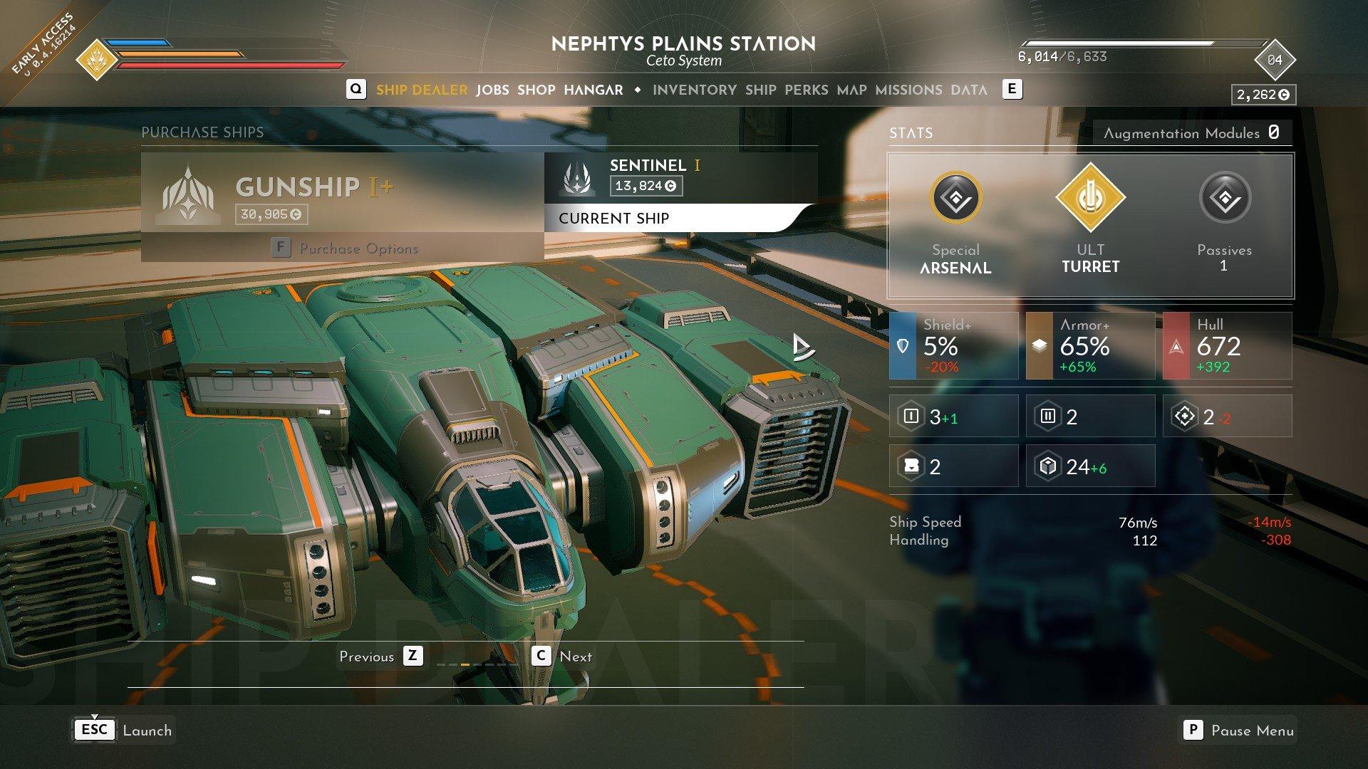 Everspace 2 - Gunship I+ 1