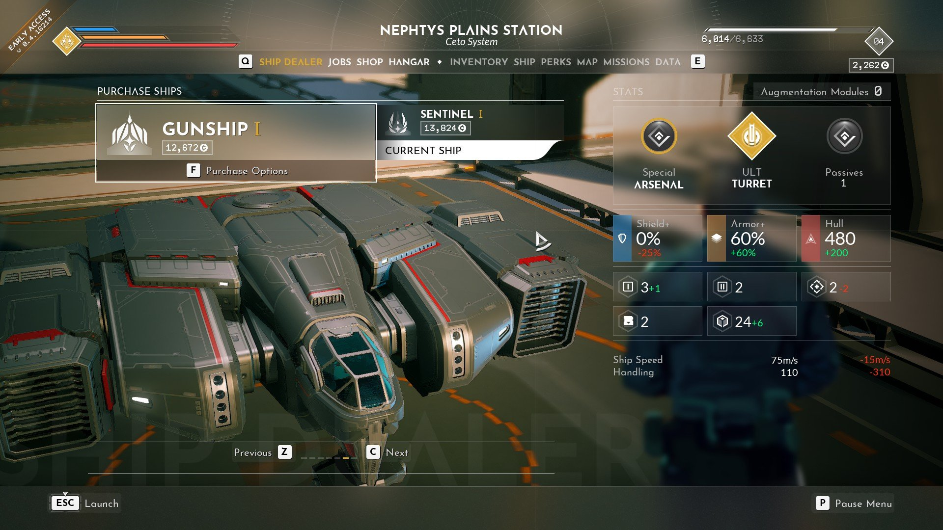 Everspace 2 - Gunship I 1