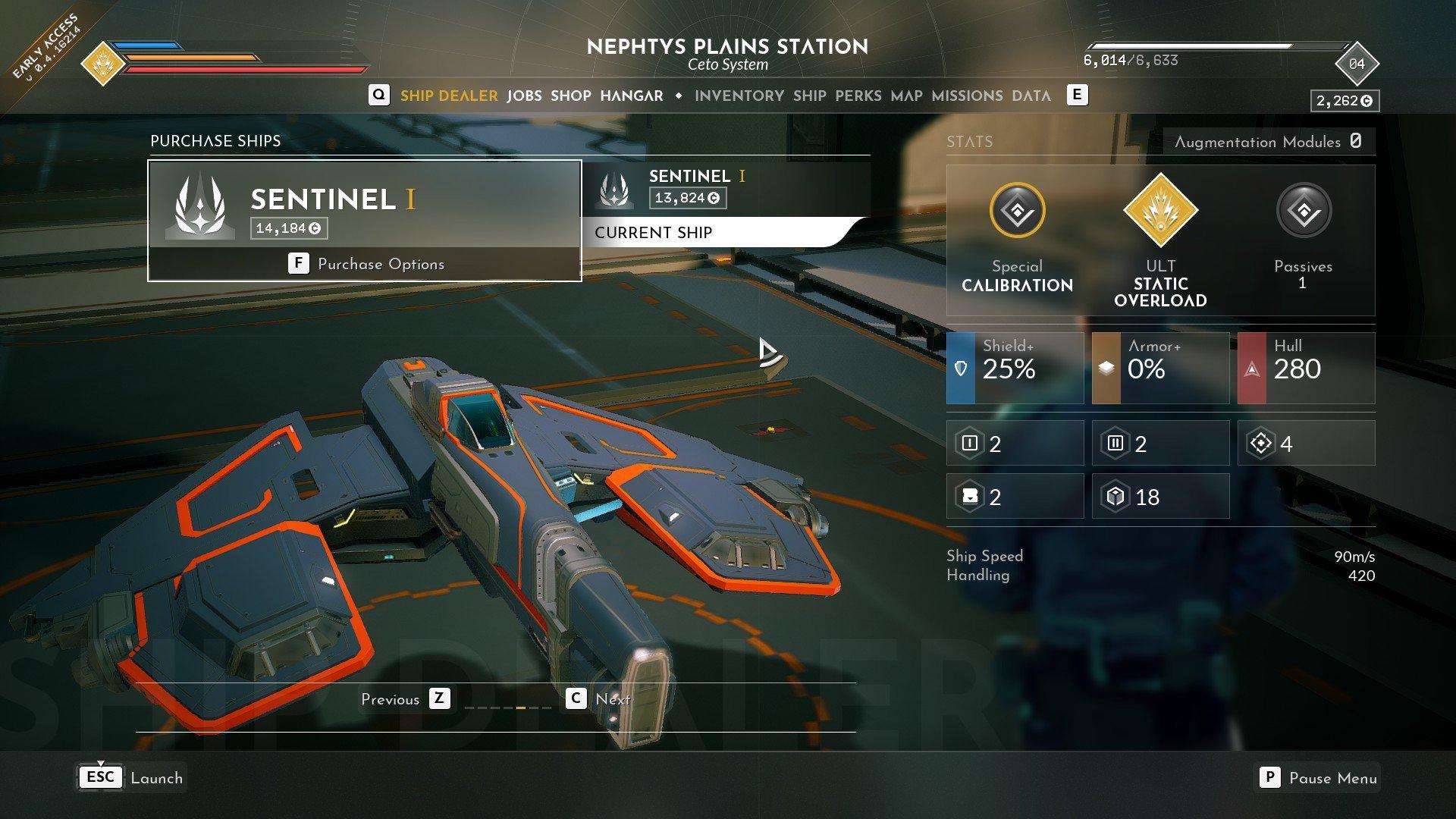Everspace 2 - Sentinel I 1