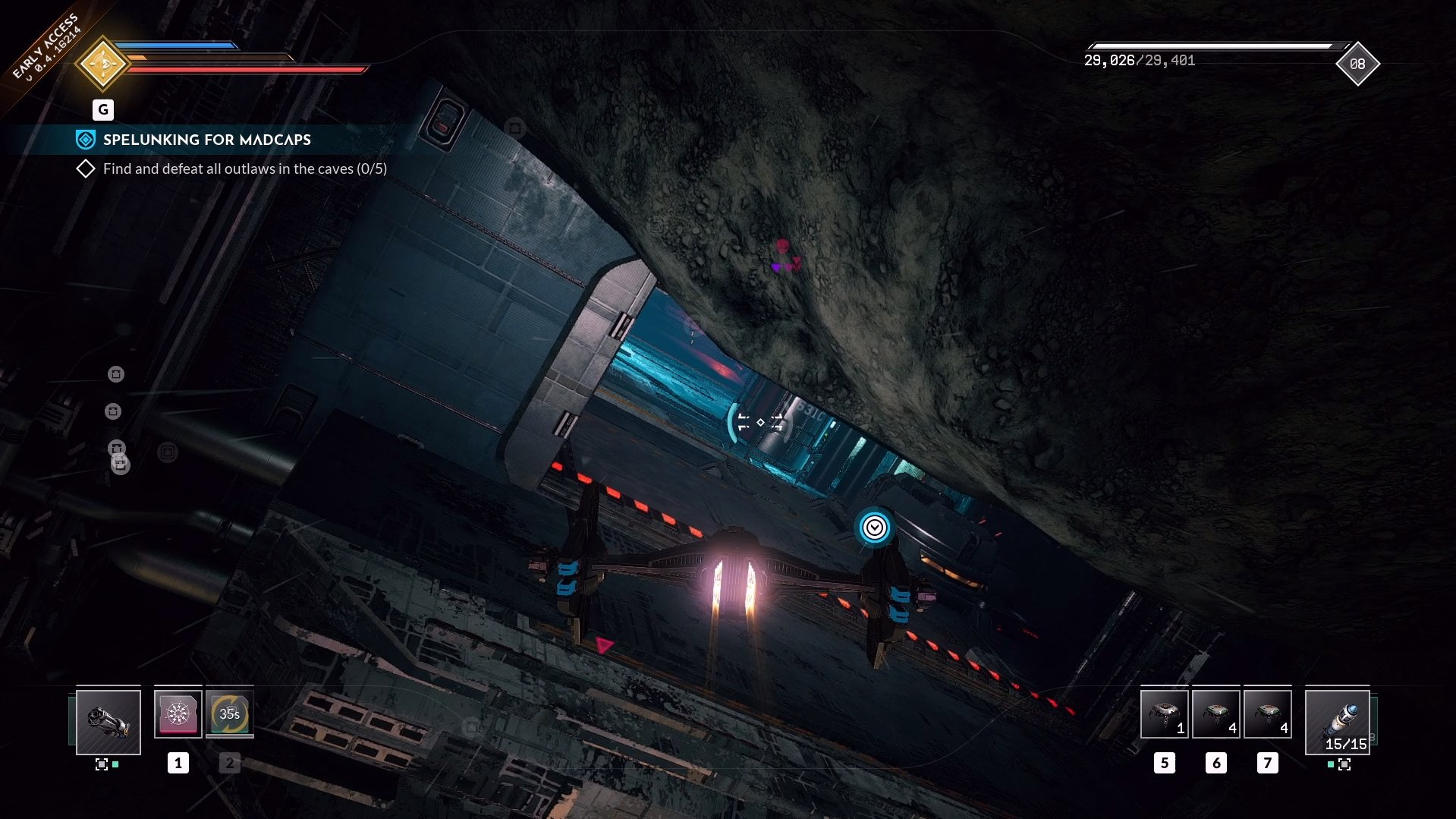 Everspace 2 - Spelunking For Madcaps Walkthrough 2