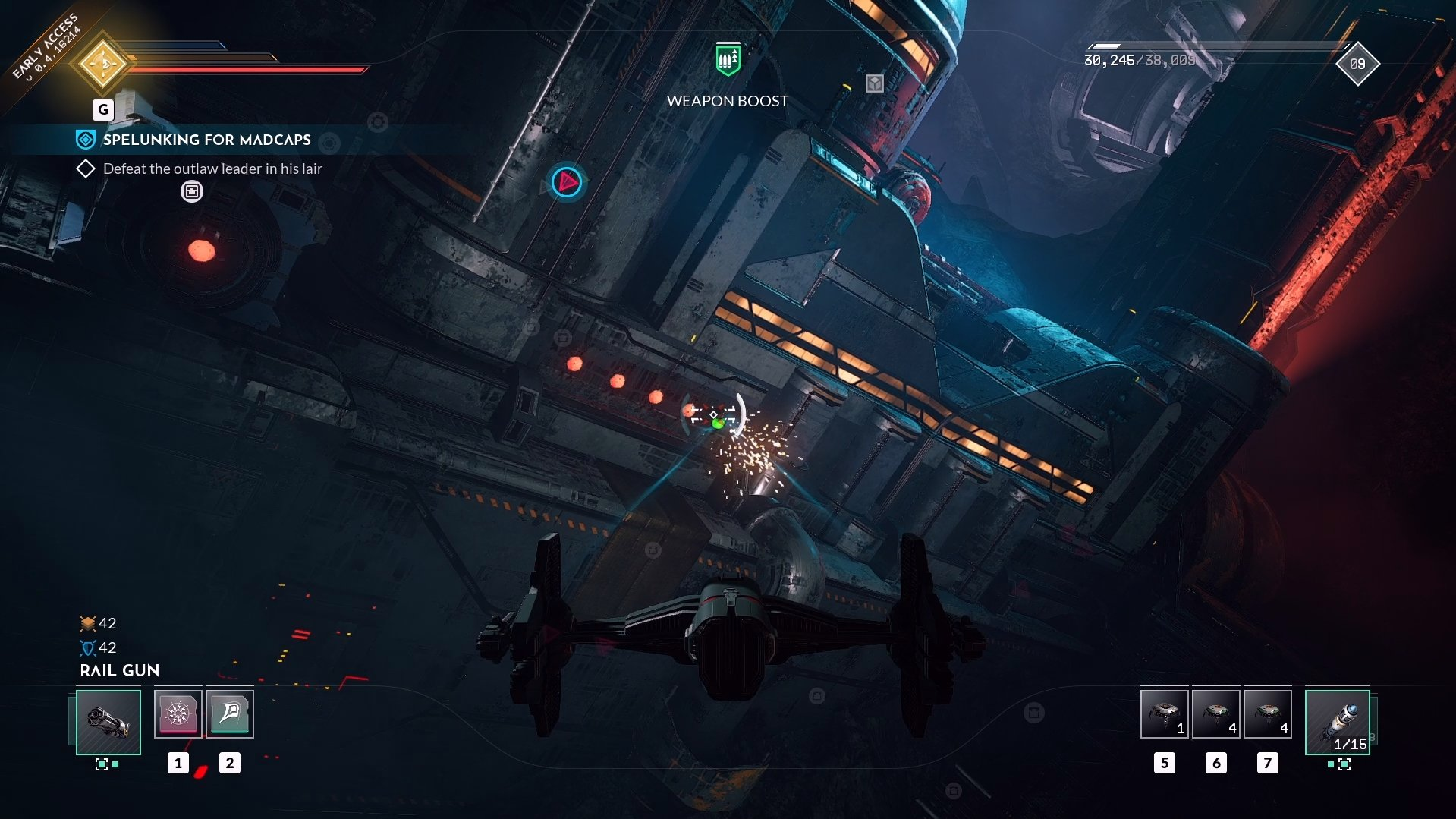 Everspace 2 - Spelunking For Madcaps Walkthrough 4