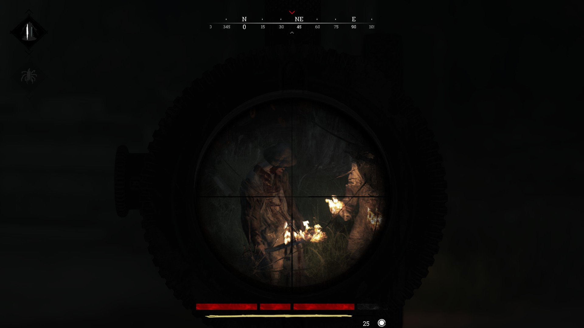 Hunt Showdown Bullet Drop Tip