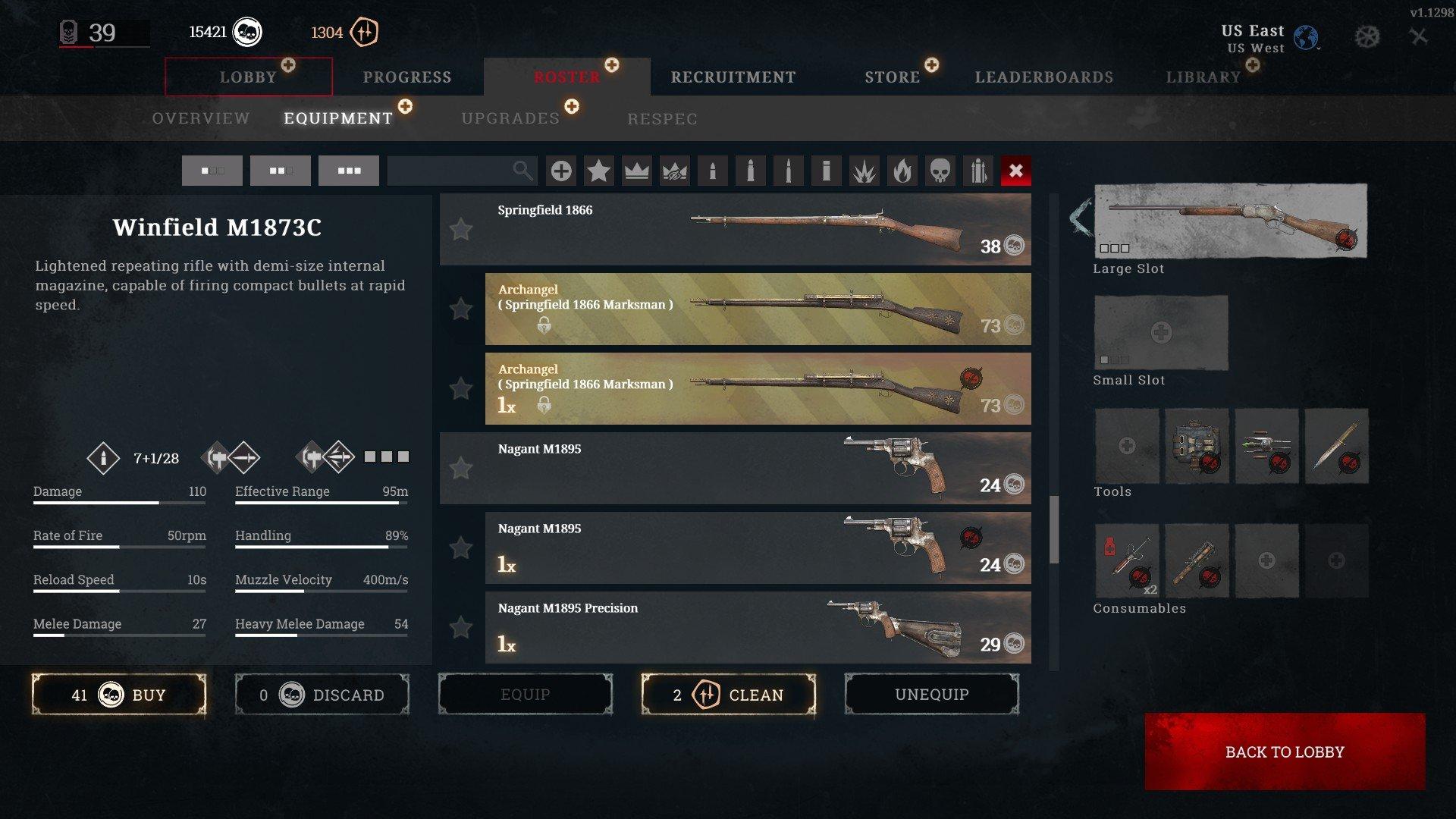 Hunt Showdown How to Clean a Gun