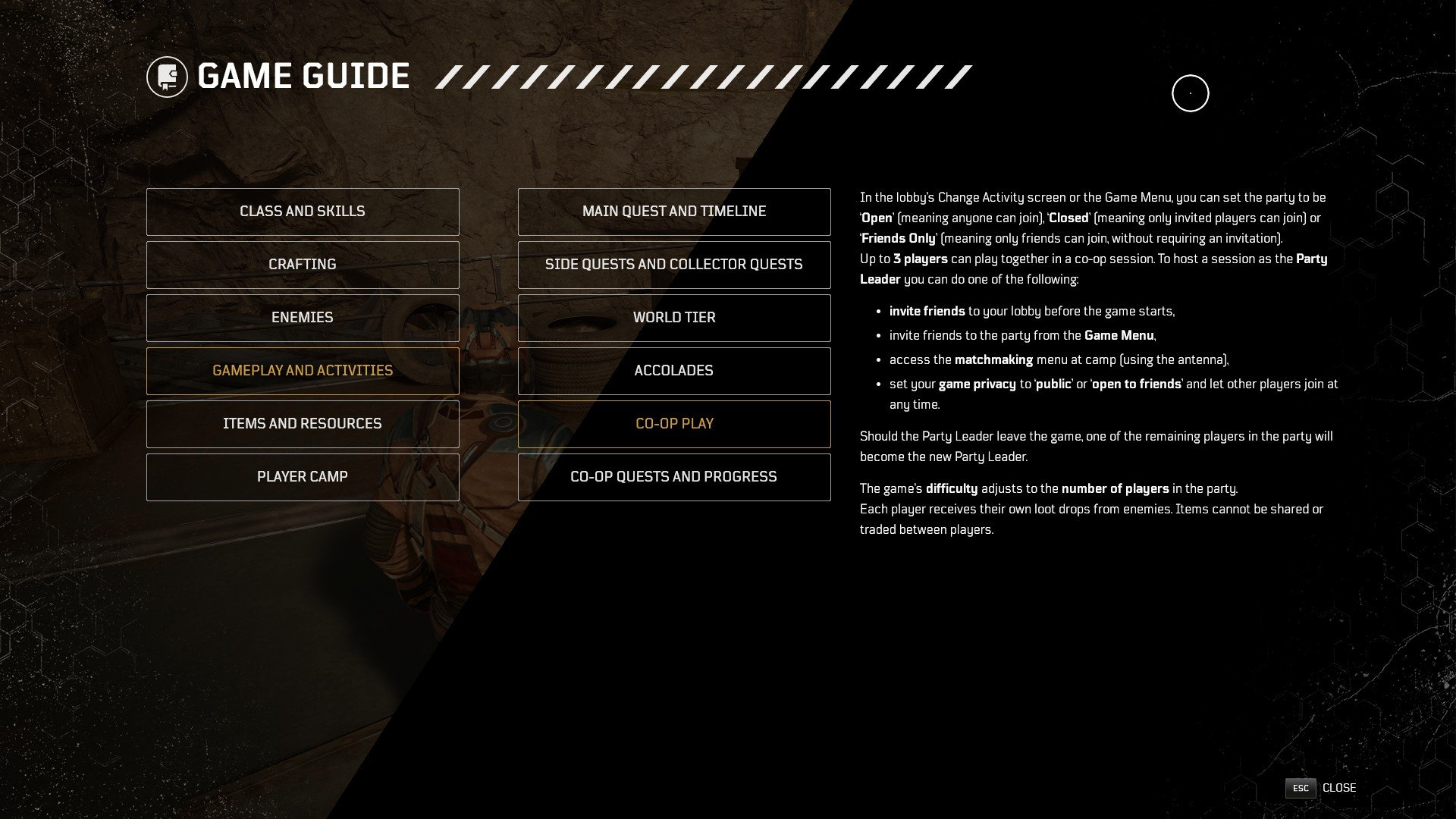 Outriders - Level Scaling Guide
