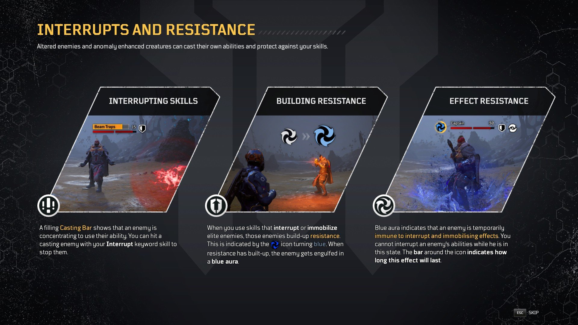 Outriders - Status Effect Resistance Elite