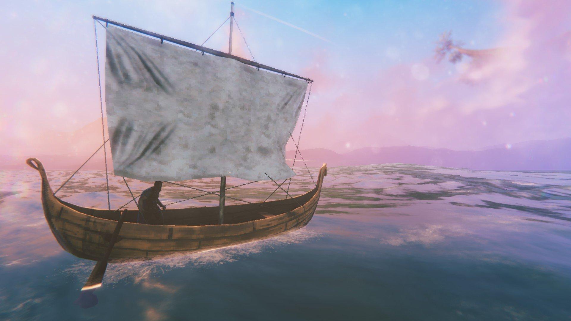 Valheim - Boat Log Out